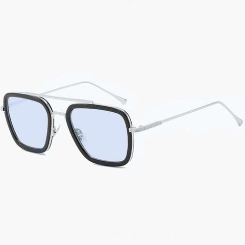 L3000 EDITH Sunglasses Sunglasses Bigboystores Silver Blue