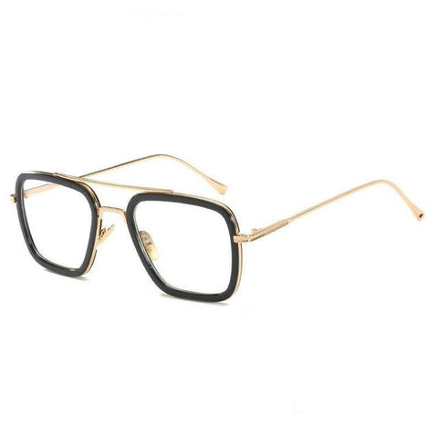 L3000 EDITH Sunglasses Sunglasses Bigboystores Gold Transparent