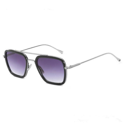 L3000 EDITH Sunglasses Sunglasses Bigboystores Silver Purple
