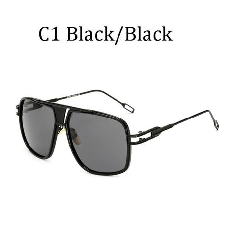 BBS Luxury Driving Sunglasses BIG Frame Sunglasses Bigboystores Black/Black