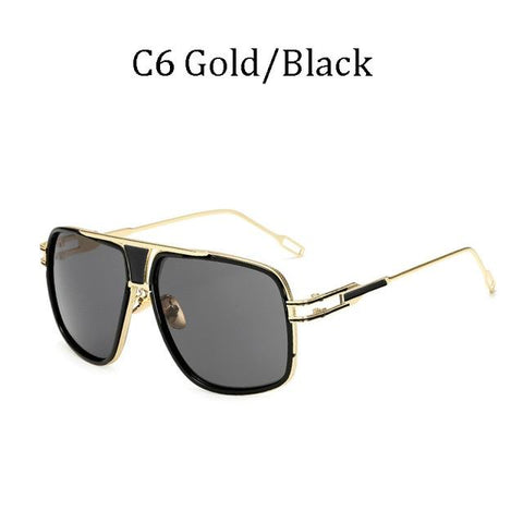 BBS Luxury Driving Sunglasses BIG Frame Sunglasses Bigboystores Gold/Black