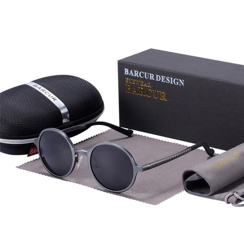 BBS Hot Black Goggle Male Retro Vintage Women Sun glasses UV400 Sunglasses Bigboystores Gun
