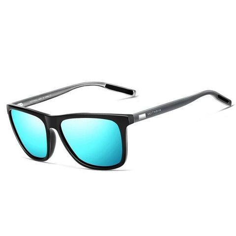 BBS Unisex Retro Aluminum+TR90 Sunglasses Polarized Lens Sunglasses Bigboystores blue China