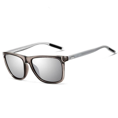 BBS Unisex Retro Aluminum+TR90 Sunglasses Polarized Lens Sunglasses Bigboystores silver China