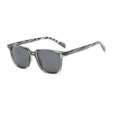 Luxury Aviation Square Sunglass Sunglasses Bigboystores Black