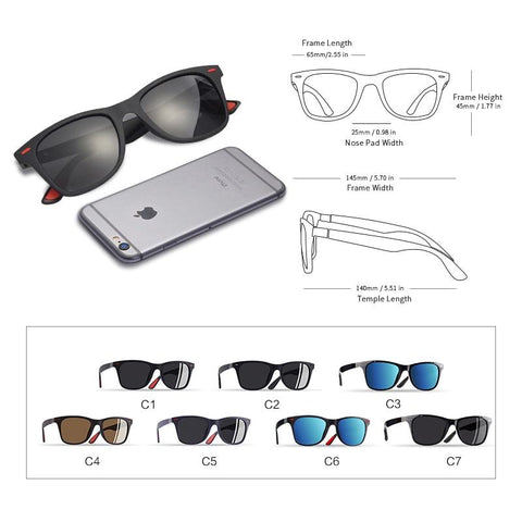 Image of Mirror Style Sunglasses Sunglasses Bigboystores