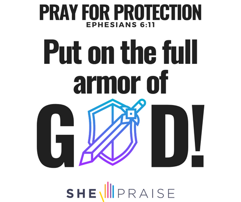 Motivational Bible verses Ephesians 6:11. Put on the fill armor of God!