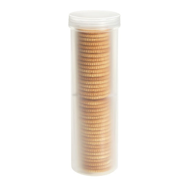 Stay Fresh Round Cracker/Cookie Sleeve Container