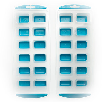 EZ Release Ice Cube Trays - S/2 Blue