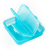 Square Pill Box - Blue