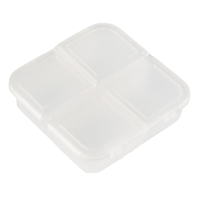 Square Pill Box - Clear