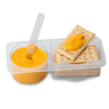Stay Fresh Mini Cracker & Spread Container