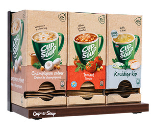Cup-a-Soup 3-pack Display