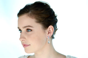 Earrings | Short Drop (E514RC) - Bridal Brilliance