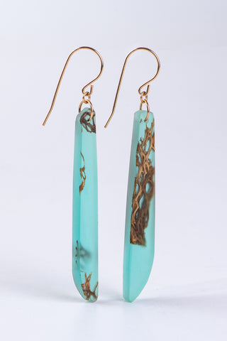 FLOATING CACTUS EARRINGS