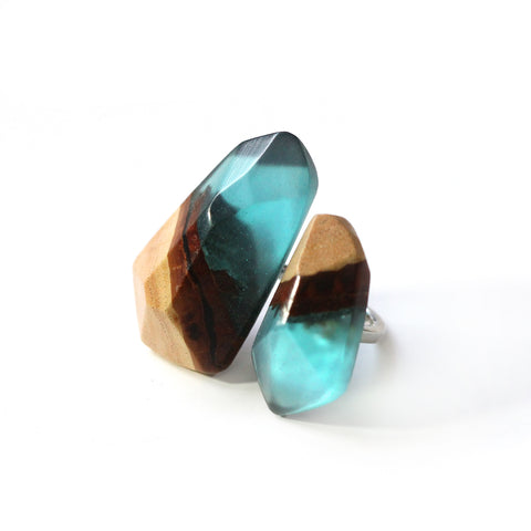 EARTH PIECES RING