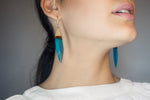 DANGLED BOHEMIAN WAVE EARRINGS