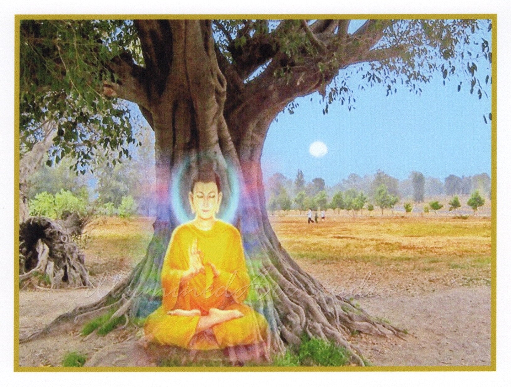 Buddha Under The Bodhi Tree