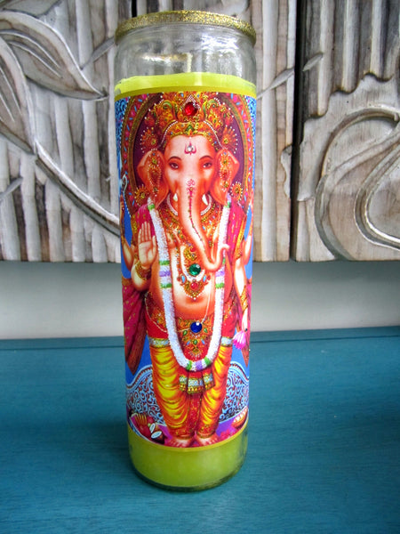 Lord Ganesh Candle