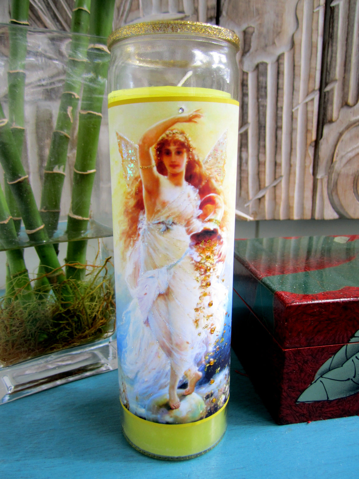 Goddess Fortuna Candle