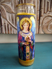 Grail Angel Candle