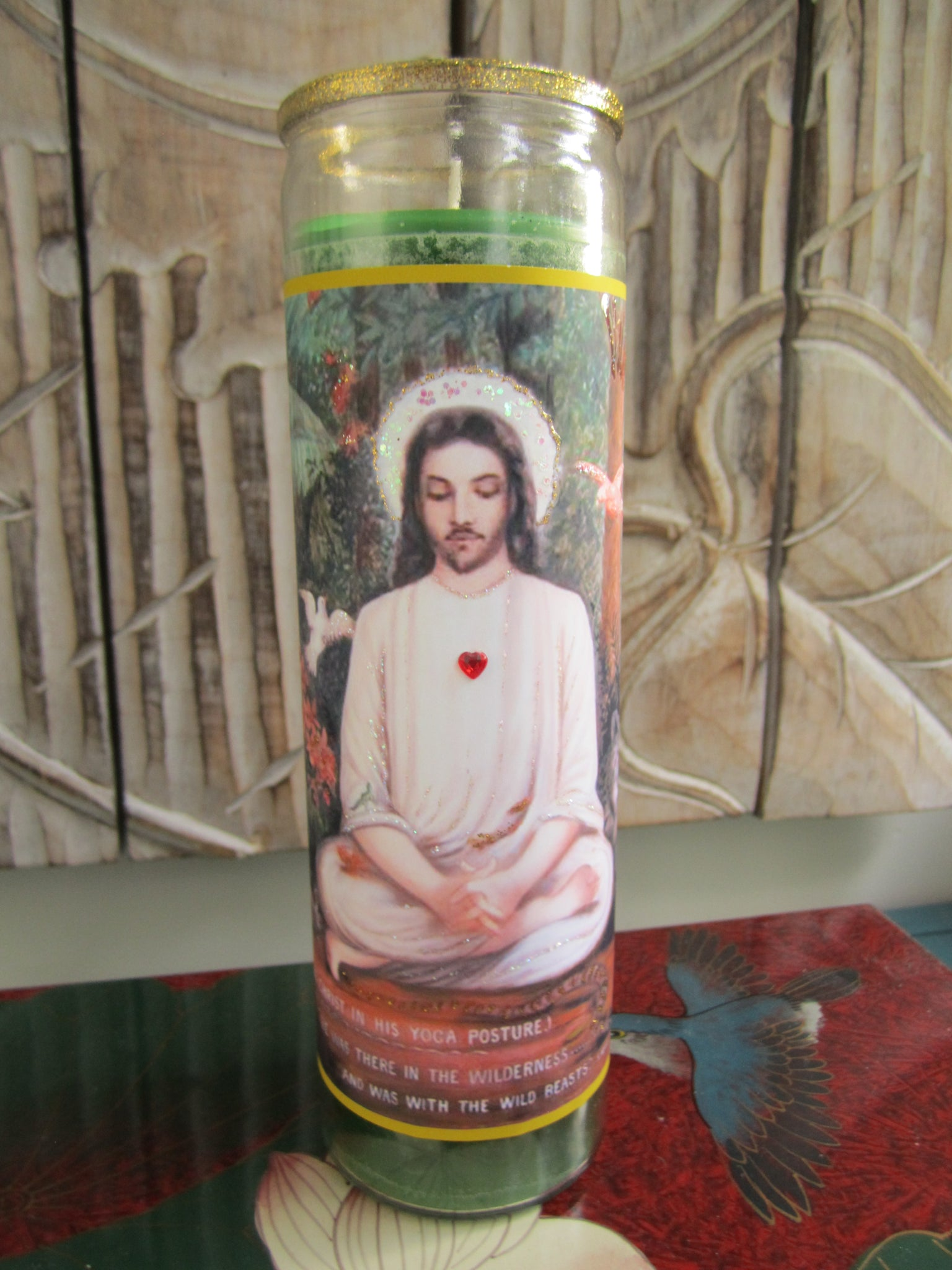 Jesus In The Wilderness Candle