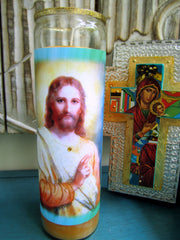 Christ At 33 Candle