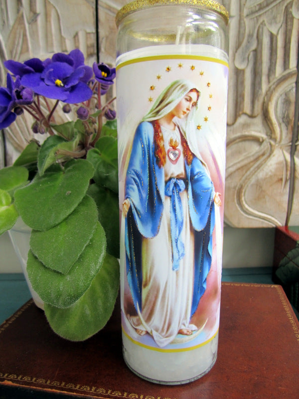 Immaculate Mary Candle