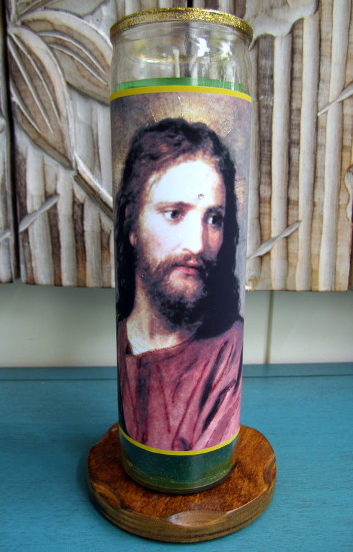 Christ By H. Hoffman Candle