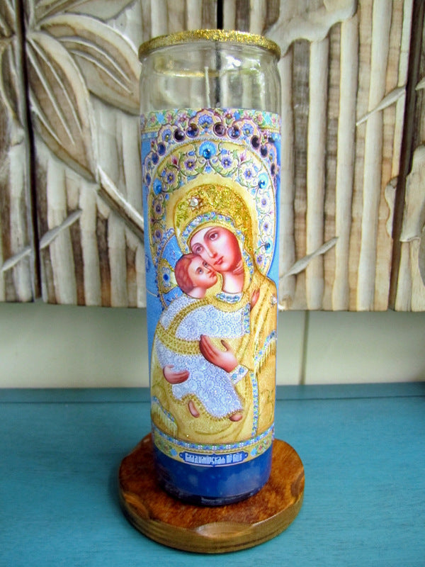 Mary & Child Candle