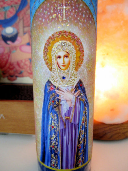 Mother Mary Candle