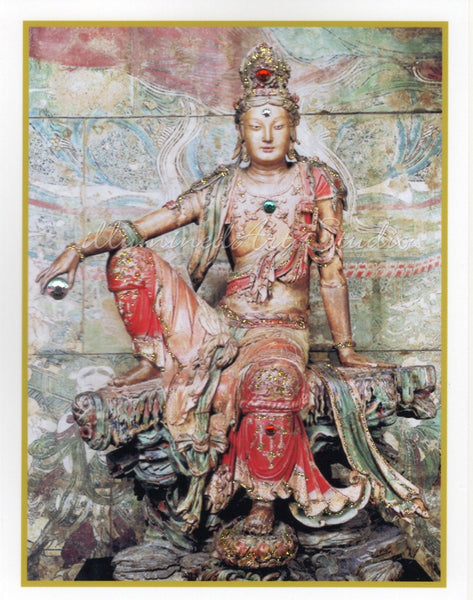 Kuan Yin In Lordly Pose