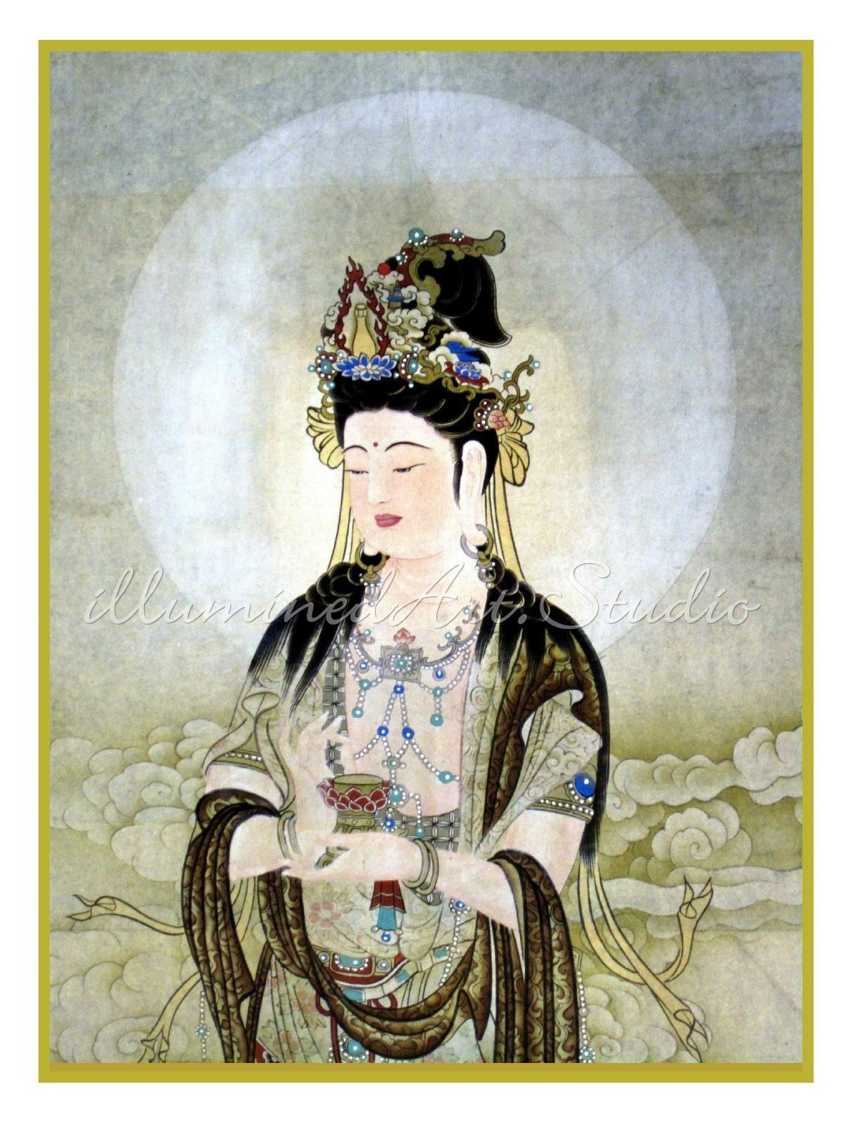Kuan Yin With Nectar of Compassion