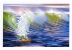 Kuan Yin Arriving On The Surf