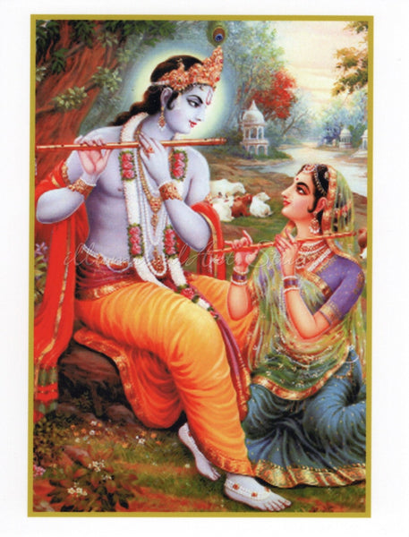 Krishna And Radha, The Divine Couple