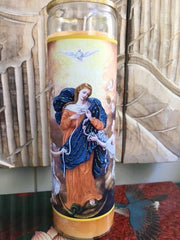 Mary Of The Knots Candle