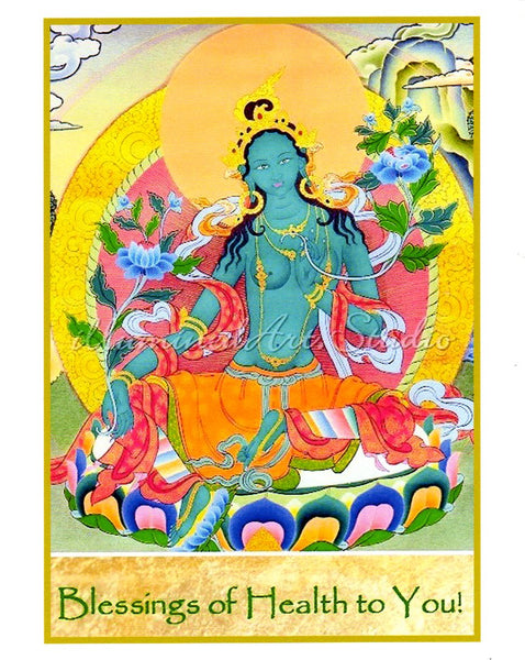"""Blessings Of Health"" Card"