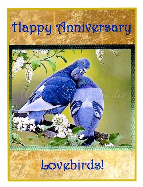 """Happy Anniversary"" Card"