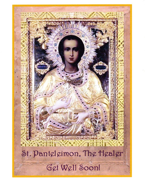"""St. Panteleimon"" Card"
