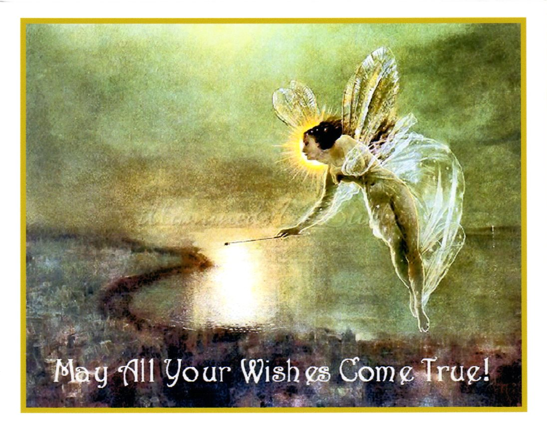 """Wishes For You"" Card"