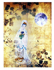 Kuan Yin Under Full Moon