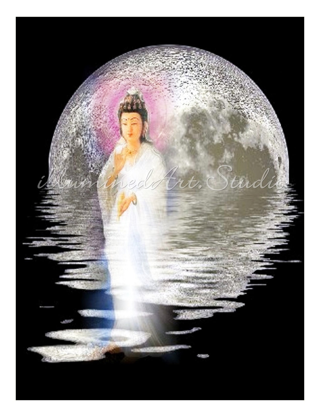 Kuan Yin Water & Moon