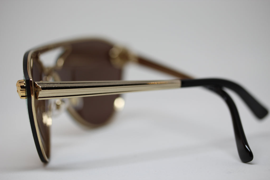 Versace Gold Pilot Sunglasses for Women VE2161 1002/F9 – Everything ...