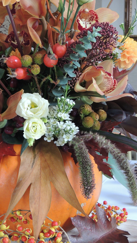 Floral Pumpkin Workshop