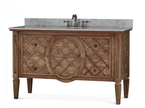Dauphine Vanity - Antique French Oak