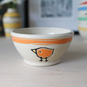 Ice Cream Bowl with Birds