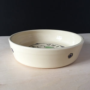 Personalized Dog Bowl, Medium