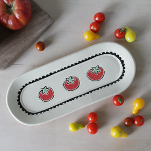 Party Tray with Tomatoes