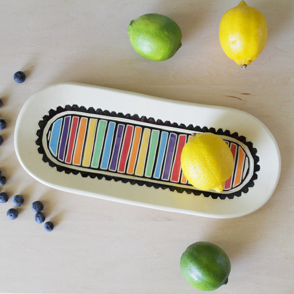 Party Tray with Rainbows