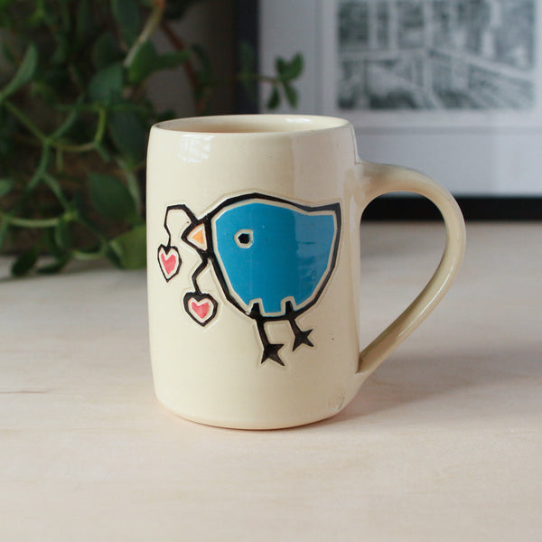 Sweetheart Bird Mug
